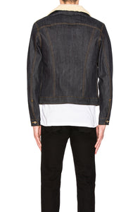 Naked & Famous Sherpa left hand twill jacket