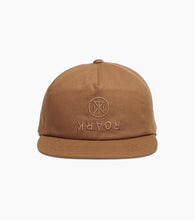Load image into Gallery viewer, Roark Over Under Men's Snapback Hat - Dark Khaki