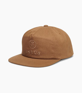 Roark Over Under Men's Snapback Hat - Dark Khaki