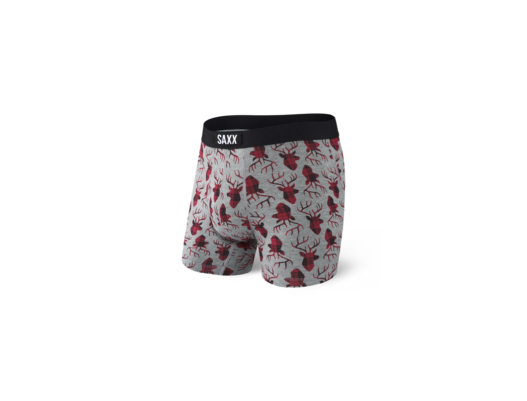 Saxx Undercover Boxer Brief - Buck Plaid