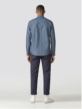 Load image into Gallery viewer, Ben Sherman Chambray Tulip Shirt