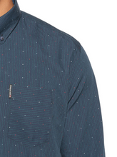 Load image into Gallery viewer, Ben Sherman Clipped Bengal Stripe Shirt