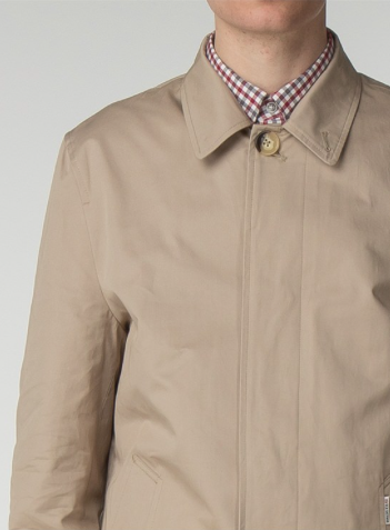 Ben Sherman Cotton Mac Coat