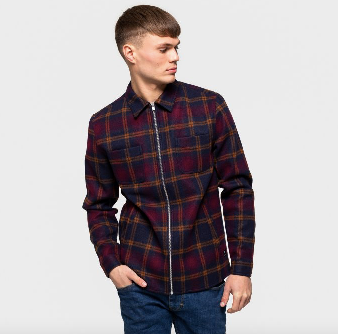 RVLT Revolution Flannel Shirt