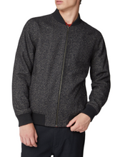 Load image into Gallery viewer, Ben Sherman Herringbone Bomber