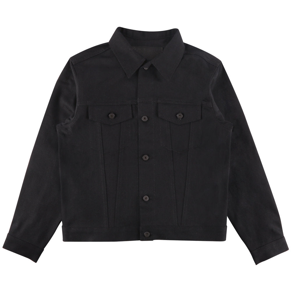 Naked & Famous Denim Jacket - Black Power Stretch