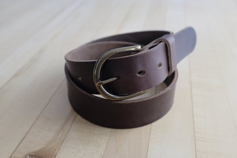 Adamson & Son Daniel Belt - Horween Brown Chromexcel