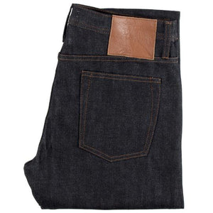 Unbranded Tapered Fit - 14.5 Oz Indigo Rigid Selvedge Denim