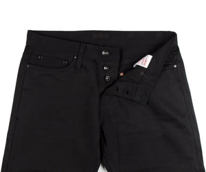 Unbranded Tapered Fit - 12.5 Oz Black Selvedge Chino