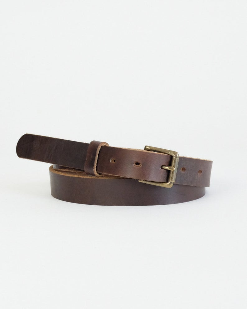 Adamson & Son Zach Belt - Horween Brown Chromexcel