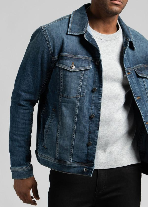 Duer Peeformance Denim Jean Jacket