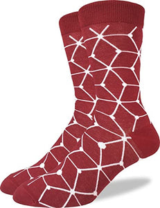 Good Luck Sock - Red Matrix Crew Socks