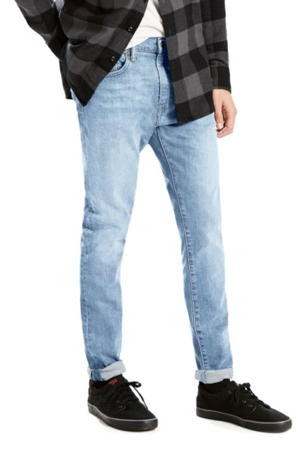 Levis Mens 512 Slim Taper - Light Denim Wash