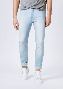 Duer Mens Slim Fit Perfomance Denim - White Out