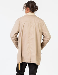 Zanerobe Zip Mac Coat - Tan
