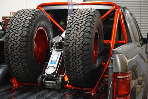 SPARE TIRE OPTION - DUAL TIRE CARRIER