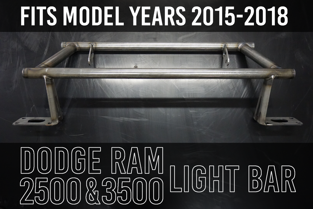 IMPULSE OFFROAD LIGHT BAR - DODGE RAM 2500 & 3500
