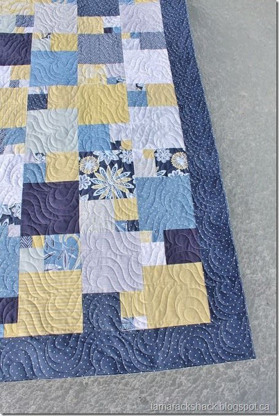 Quarter Sections PDF Quilt Pattern