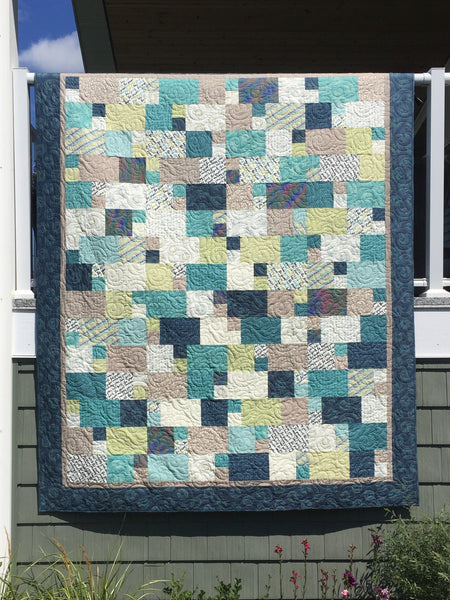 Home Quarter Paper Quilt Pattern