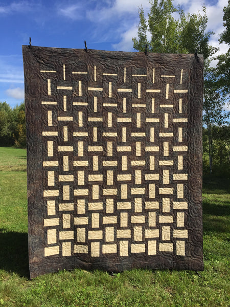 Simply Dashing Paper Quilt Pattern