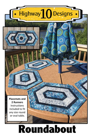Roundabout Paper Quilt Pattern