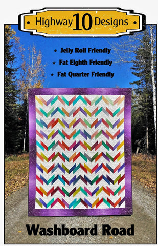 Washboard Road Paper Quilt Pattern