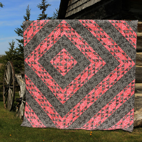 Alternate Routes Paper Quilt Pattern
