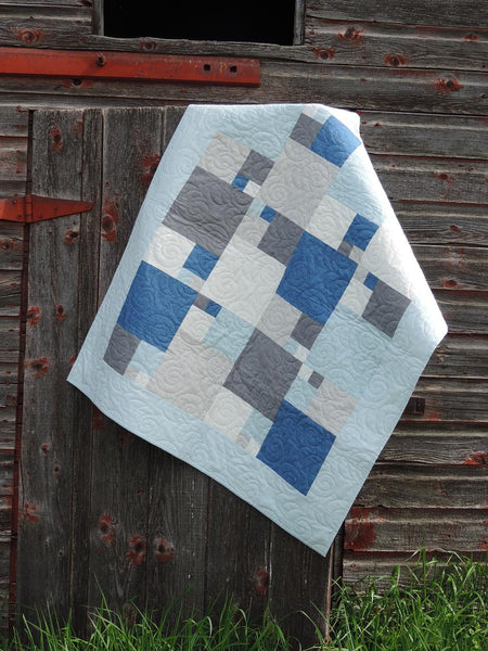 Quarter Sections Paper Quilt Pattern