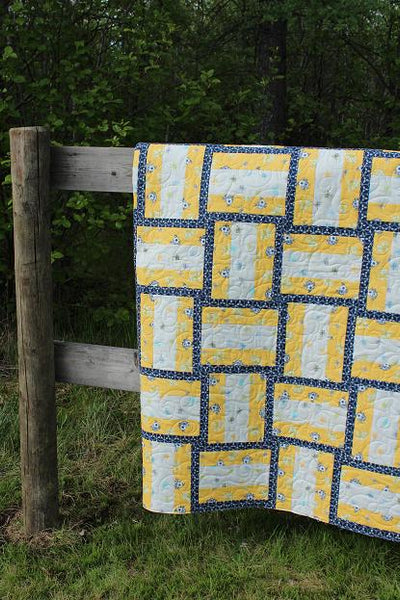 Pedal to the Metal PDF Quilt Pattern
