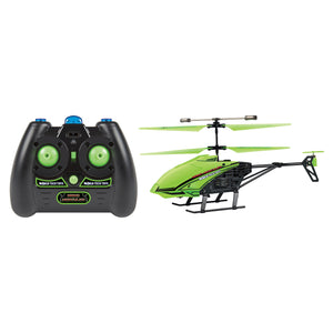 "3.5CH Nano Hercules ""Glow in the Dark"" IR UNBREAKABLE Gyro Helicopter"