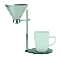 Minimal Coffee Stand with Stainless Steel Filter