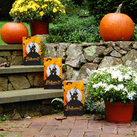 Orange, Black Halloween House