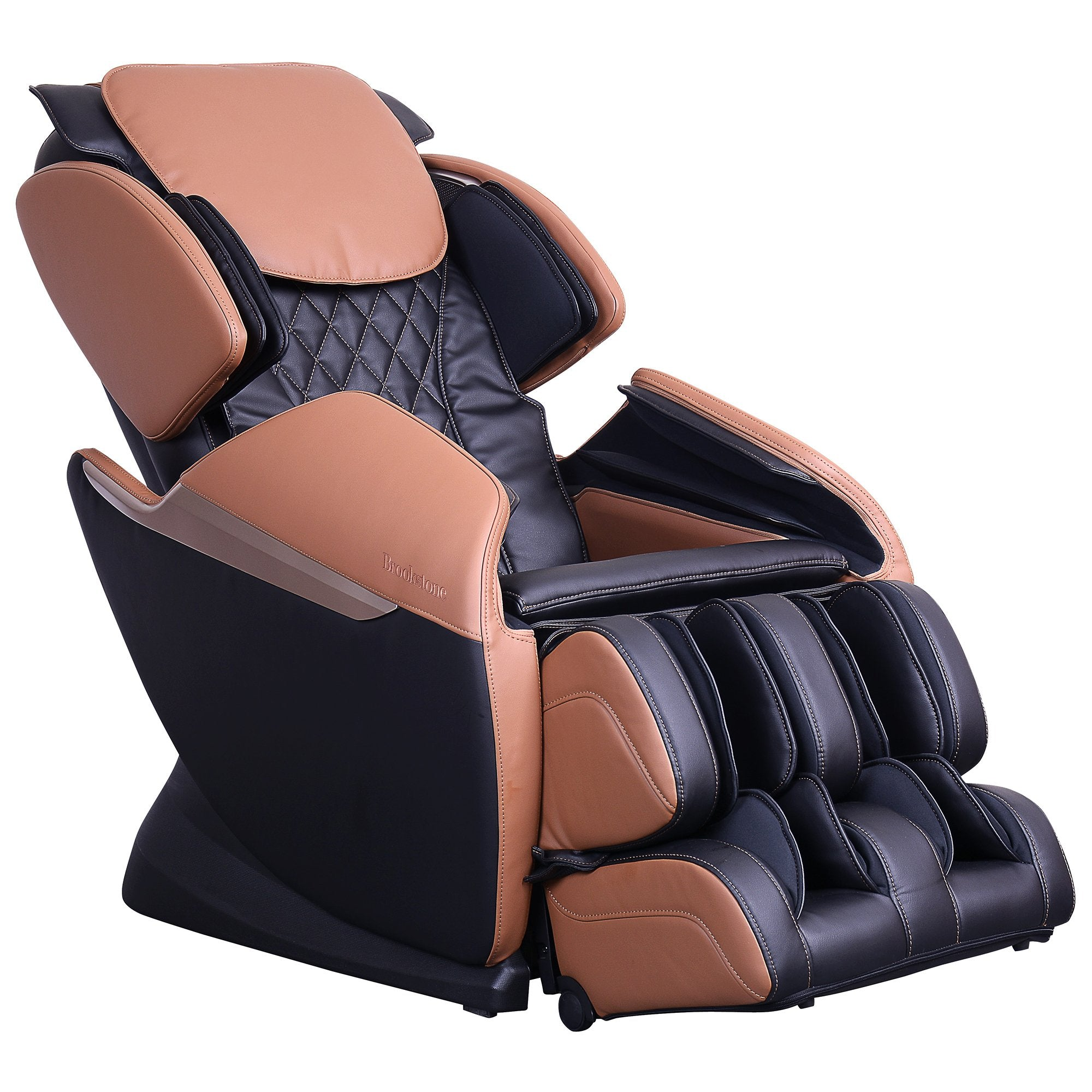 Cozzia Brookstone BK-150 Massage Chair in Black/toffee