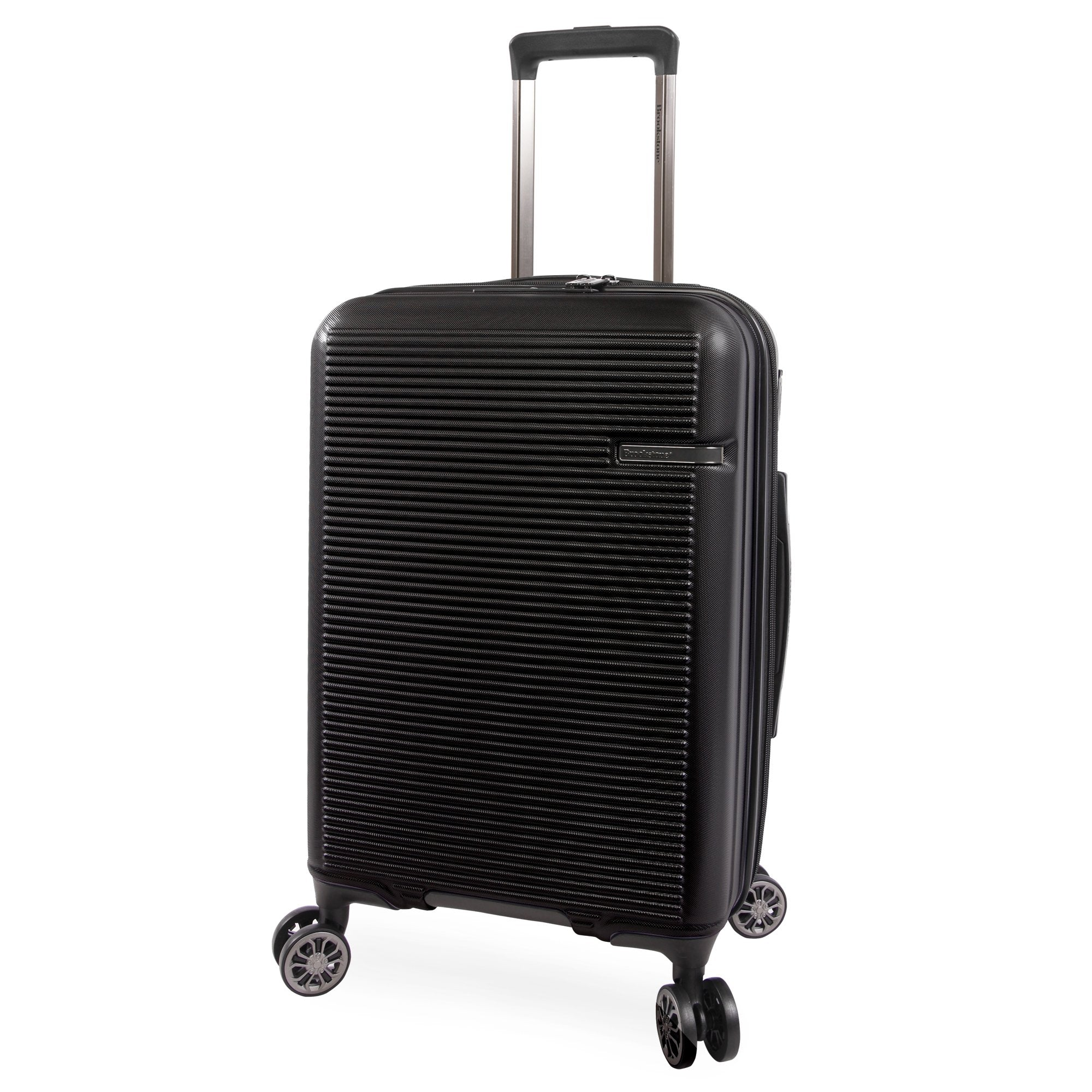 """American Traveler Brookstone Nelson 21"""" Hardside Carry-On Spinner in Navy, Size 21 Inch"""