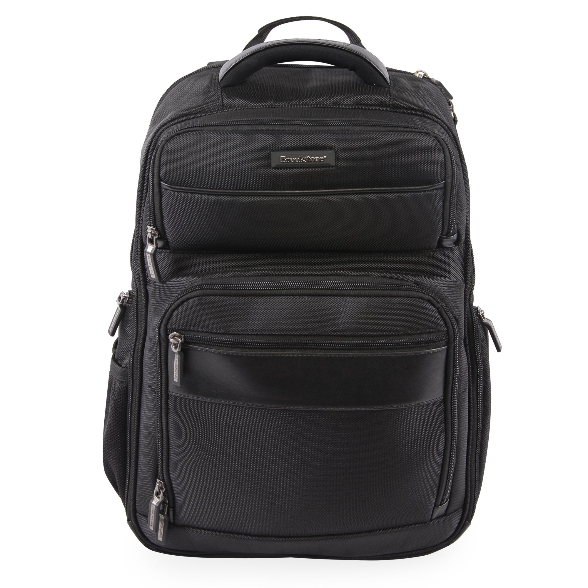 American Traveler Brookstone Bryce Laptop Backpack in Black, Size 18 Inch