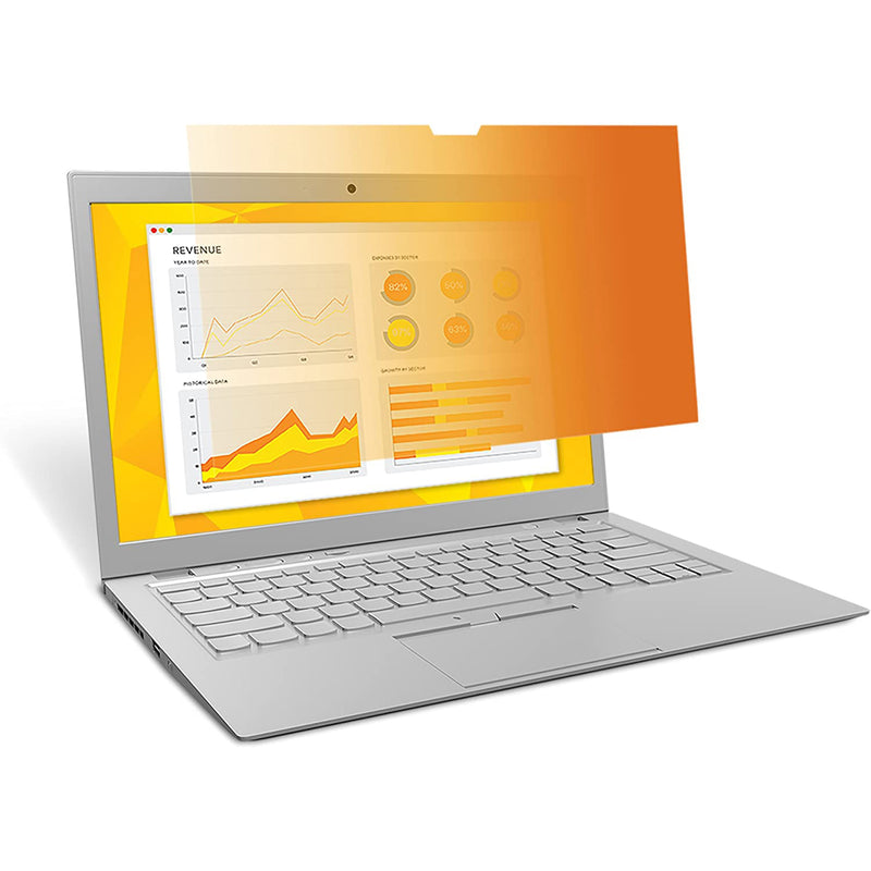 3M™ Gold Privacy Filter for 13.3 in. Laptop