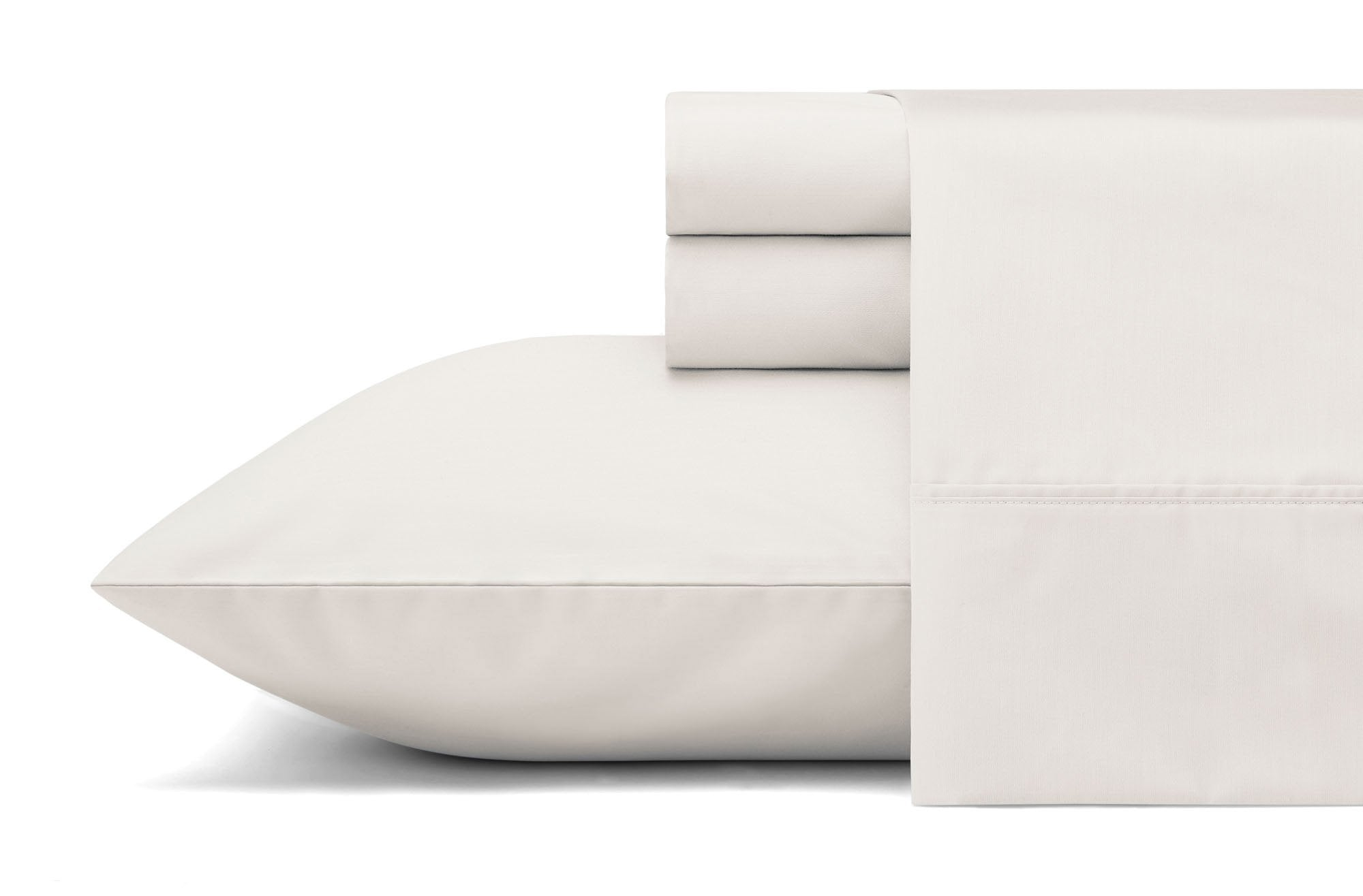 Sleepletics Celliant Performance Pillowcase (Set of Two) in Chalk, Size King