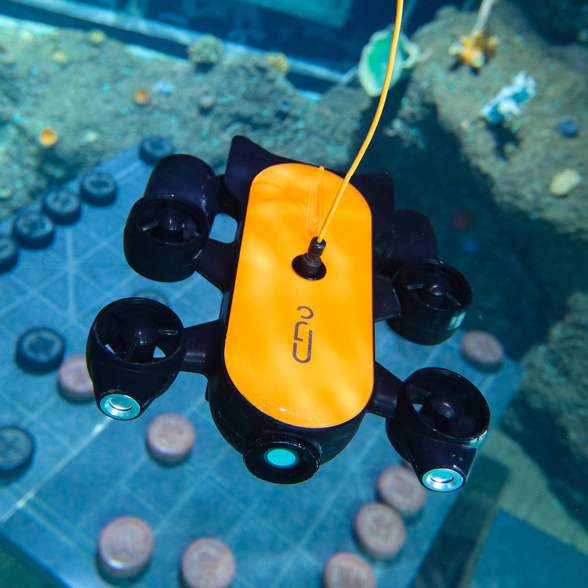 Underwater Drone Geneinno T1 100M Tether in Orange