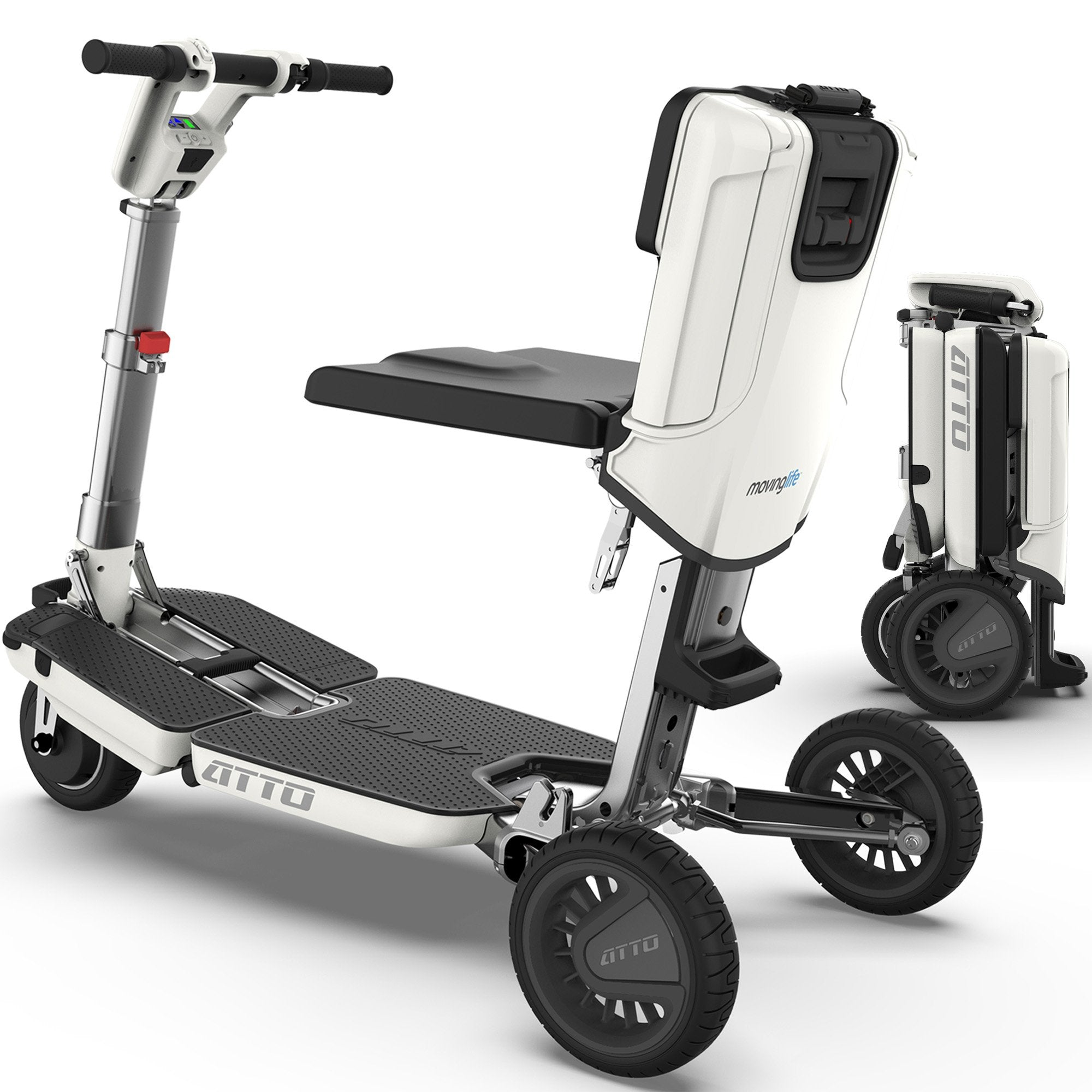 Moving Life Ltd. ATTO Mobility Scooter in White