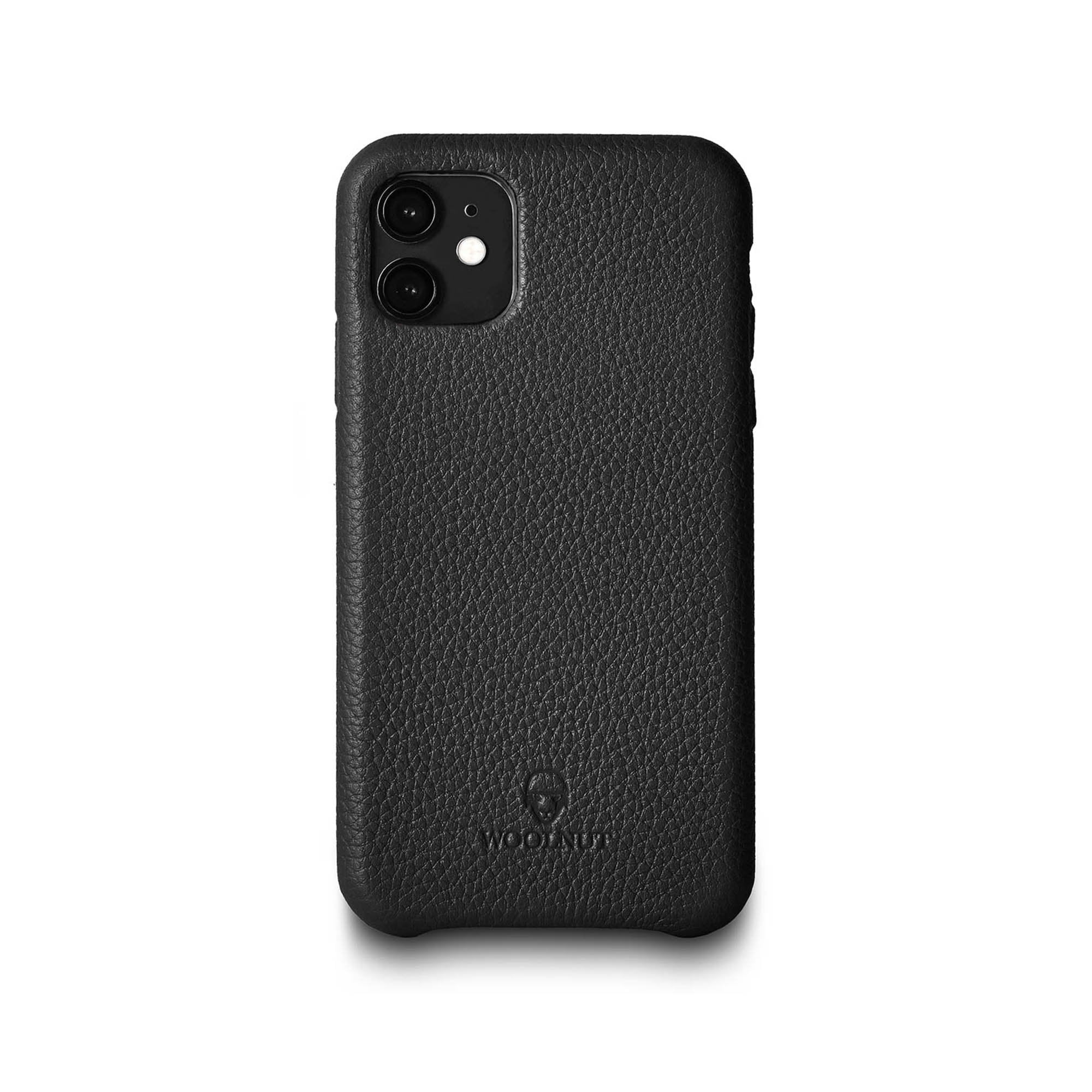 Bluemar Promotions Woolnut Leather Case for iPhone 11 in Cognac