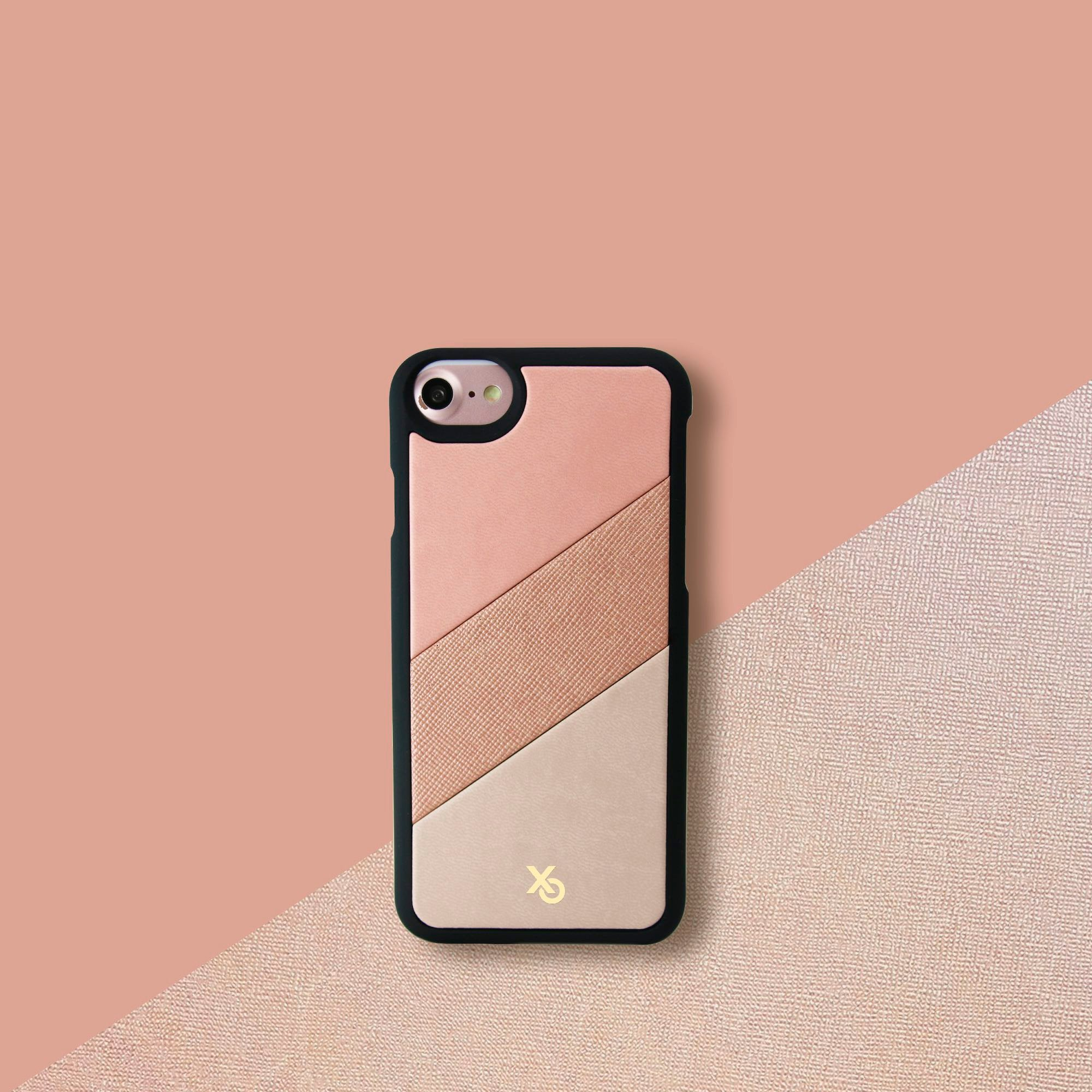 LaFab Enamor Triptych Designer Collection Back Case Made in Paris for iPhone SE 2020 Edition in Beverlyhills
