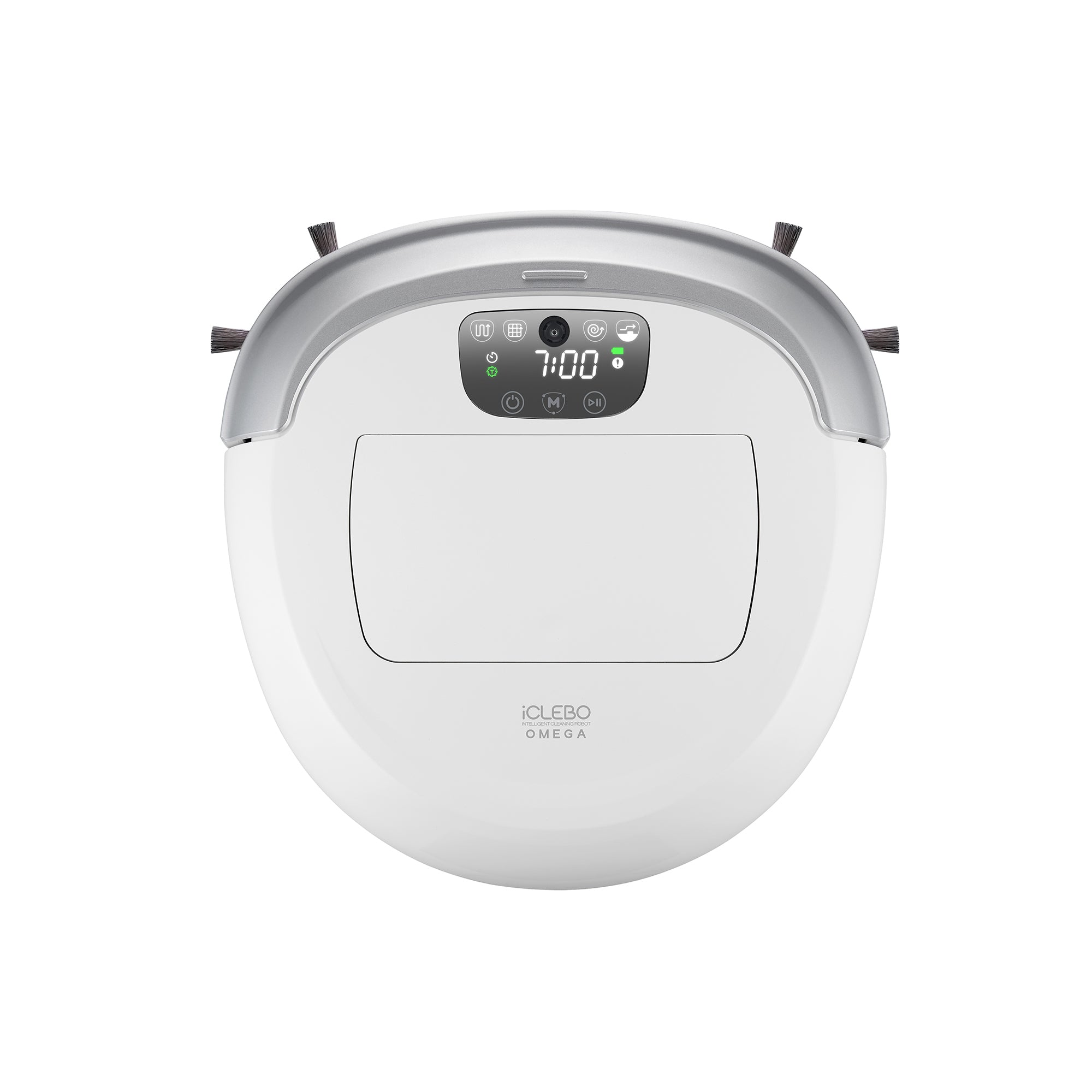 Robot Vacuum Co iClebo Omega W Robot Vacuum Cleaner in White