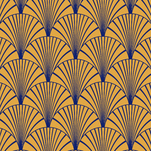 Art Deco Navy