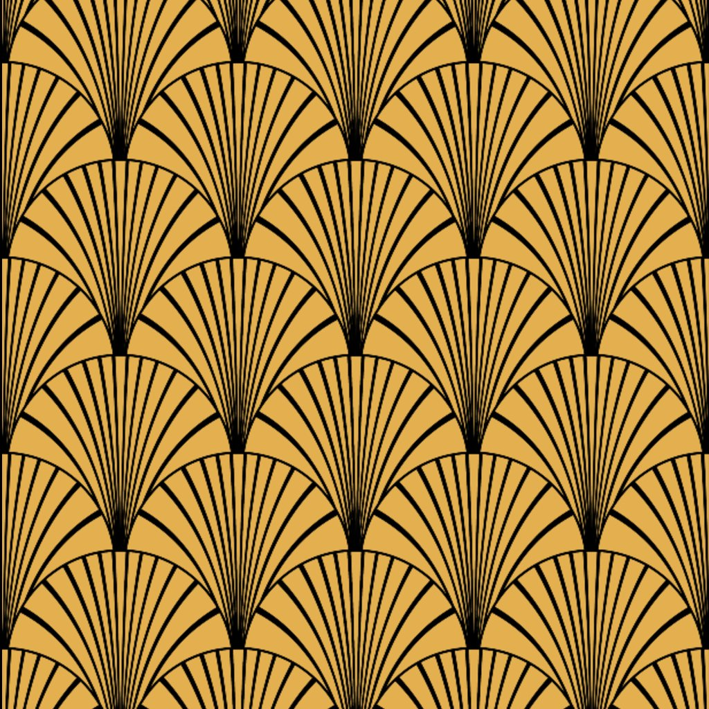 Art Deco Gold