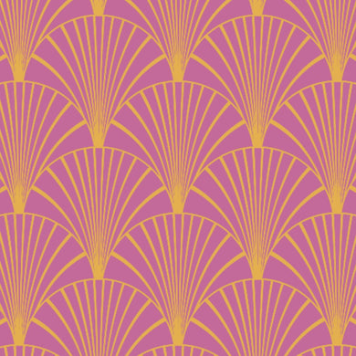 Art Deco Pink & Gold