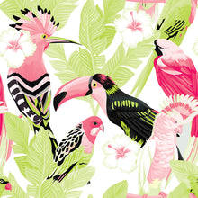 Load image into Gallery viewer, Birds Green & Pink