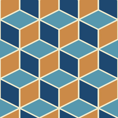 Blue & Orange Cubes