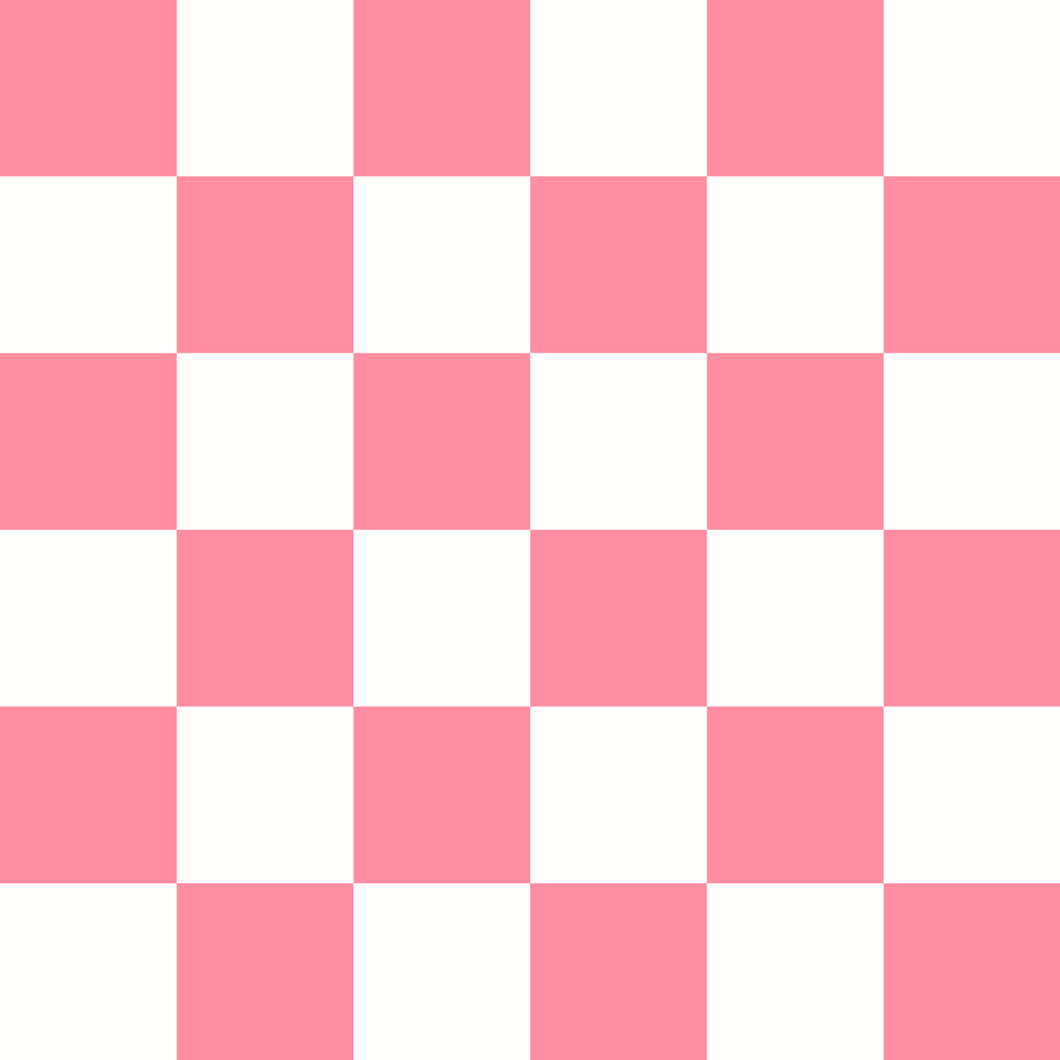 Checkered Design - Cherry (Large)