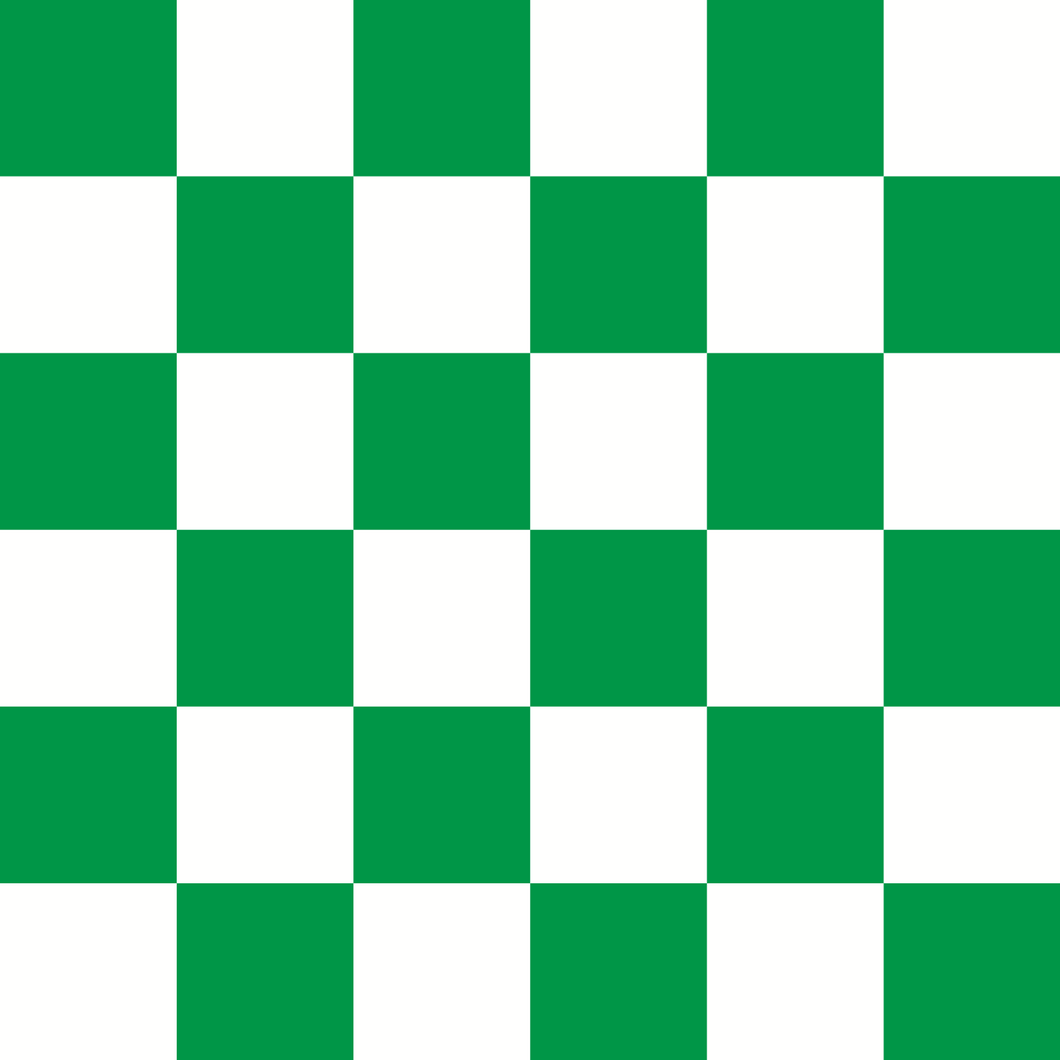 Checkered Design - Emerald (Large)