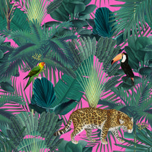 Load image into Gallery viewer, Jungle & Pink - Floor & Wall